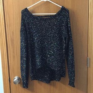 """""""5/$20"""" Material Girl sparkly sweater"""